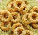 شیرینی,شیرینی حلقه های نارگیلی,shabnamha.ir,شبنم همدان,afkl ih,شبنم ها