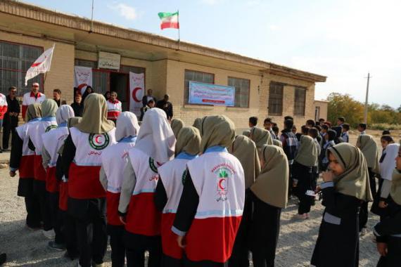 افتتاح دومین مدرسه بشر دوستی استان همدان در نهاوند