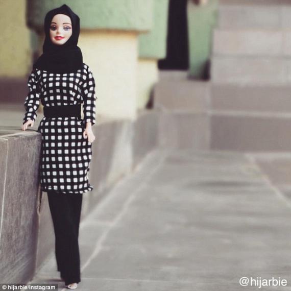 « حجاربی » عروسک مخلوط دختر نیجریه ای از «حجاب » و « باربی »