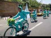 دوچرخه سواری,کمپین,کمپین از خودمان شروع کنیم,بازار تهران,shabnamha.ir,شبنم همدان,afkl ih,شبنم ها