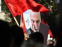 حرف هایی از جنس احساس مادرانه در اندوه شهادت امیر ایرانی دمشق