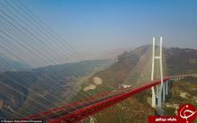 پل معلق,مرتفع ترین پل معلق,چین,افتتاح,مرتفع ترین پل جهان افتتاح شد,shabnamha.ir,شبنم همدان,afkl ih,shabnamha