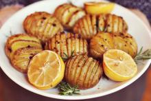 آشپزی,سیب زمینی,سیب زمینی آکاردئونی,shabnamha.ir,شبنم همدان,afkl ih