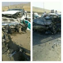 تصادف,جاده تویسرکان,خودروی نیروی انتظامی,shabnamha.ir,شبنم همدان,afkl ih,شبنم ها