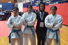 مسابقات جهانی کاراته,تیم کاتای دختران,shabnamha.ir,شبنم همدان,afkl ih,شبنم ها;