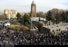 تجمع مردمی,اغتشاشات,پیاده راه بوعلی,shabnamha.ir,شبنم همدان,afkl ih,شبنم ها;