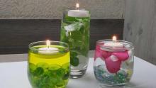 شمع,شمع روآبی,شمع شناور,هنر در خانه,آموزش ساخت شمع,shabnamha.ir,شبنم همدان,afkl ih,شبنم ها;
